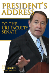 President's Address to the URI Faculty Senate