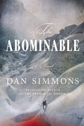 Dan Simmons signs THE ABOMINABLE
