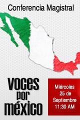 Conferencia de Prensa - Voces por México