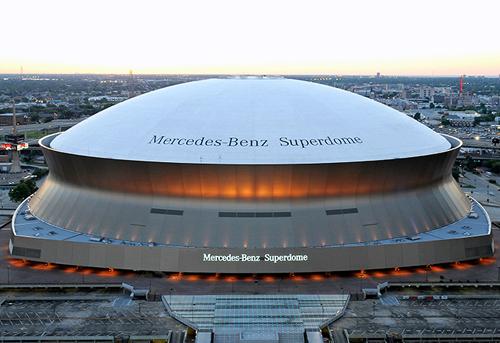 Mercedes benz superdome techzibits for Where is the mercedes benz superdome