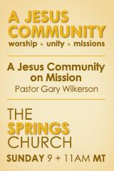 A Jesus Community on Mission