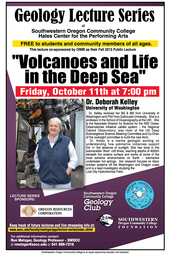 October 11 Geology Lecture Series
