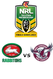 Rabbitohs vs. Sea Eagles