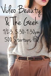 Video Beauty and the Geek with Polyvore, Style Seat, Ipsy and Jessica Harlow