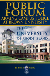 Public Forum: Arming Campus Police at Brown University