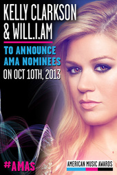2013 AMAs Nominations Announcement