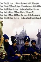 Akali Jatha Kirtan Tour