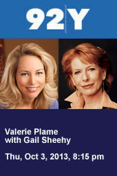Valerie Plame with Gail Sheehy