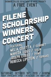 Filene Scholarship Winners Concert