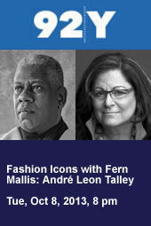 Fashion Icons: André Leon Talley with Fern Mallis