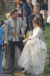 Into The Woods Filming At Dover Cstle