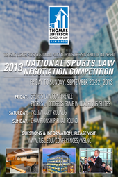 National Sports Law Negotiation Competition and Sports Law Conference