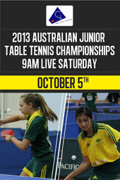 2013 Ozcare Australian Junior Open Table Tennis Championships