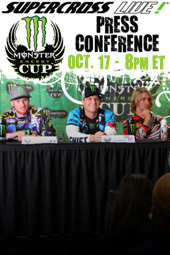 2013 Monster Energy Cup Press Conference
