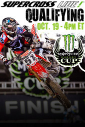2013 Monster Energy Cup Practice & Qualifying