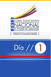 Foro Educativo Nacional 2013