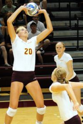Volleyball vs Mount Union - Oct 11