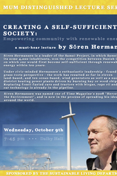 Creating a Self-Sufficient Society: Empowering community with renewable energy – Sören Hermansen