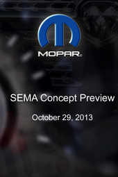 Mopar -  SEMA Concept Preview
