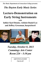 Early String Instruments, Lecture-Demo