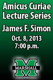 James F. Simon; Amicus Curiae Lecture Series