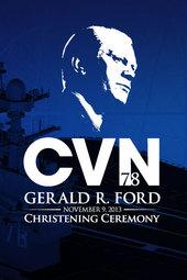 #FordCVN78 Christening