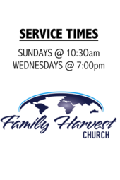Family Harvest Church | Weekly Services