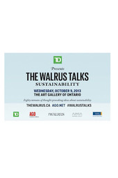 TD PresentsThe Walrus Talks Sustainability