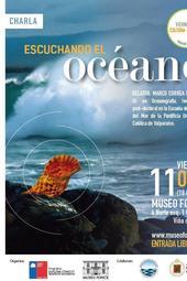 """Charla """"Escuchando el oceáno"""""""