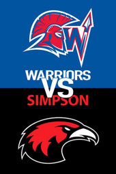 Women's Volleyball: WJU vs. Simpson
