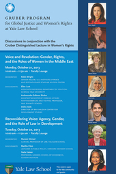 Voice and Revolution: Gender, Rights, and the Roles of Women in the Middle East