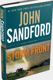 John Sandford discusses STORM FRONT, a Virgil Flowers Novel