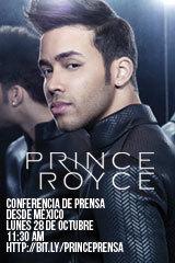 Prince Royce - Conferencia de Prensa