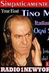 Simpaticamente Insieme Host Tino Maiolo (Live) Ogni Sabato ore 12 PM NY ore 18:00 in Italia