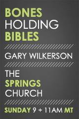 Bones Holding Bibles