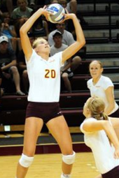 Volleyball vs Trine -- Oct 15