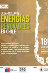 """Charla """"Desarrollo de Energías Renovables en Chile"""""""