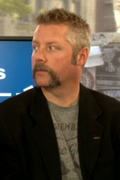 Talking Movember at the News Café