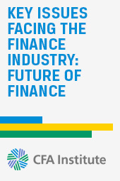 Key Issues Facing the Finance Industry: Future of Finance