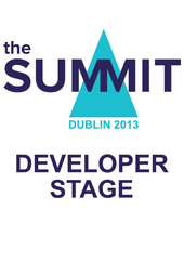 Developer Stage 2013