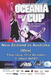 Oceania Cup NZ vs Australia (Men)