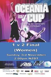 Oceania Cup 1 v 2 Final (Women)