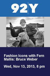 Fashion Icons: Bruce Weber with Fern Mallis