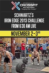Schwartz's Iron Edge 2013 Challenge - Powered by The Brave