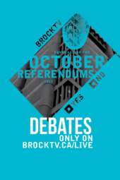 BUSU October 2013 Brock Radio Referendum Debate