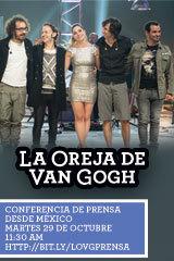 La Oreja De Van Gogh - Conferencia de Prensa