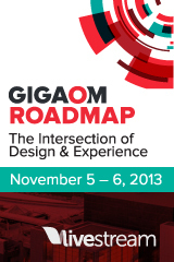 Gigaom Roadmap 2013