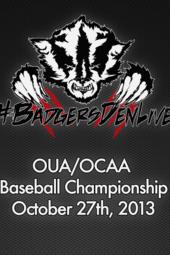 OUA/OCAA Baseball Championship Game(s)