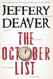 Jeffery Deaver signs THE OCTOBER LIST