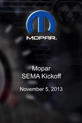 Mopar - SEMA Kickoff